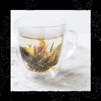 Blooming tea/ Bolitas de té